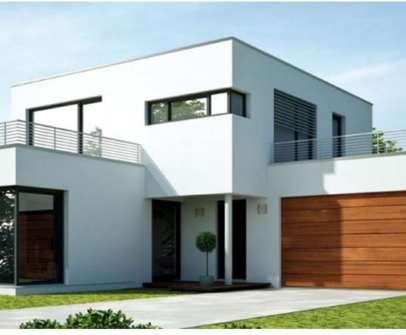 dom jednorodzinny z widokiem na bramę